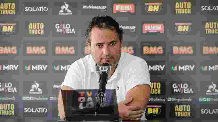 Alexandre Mattos é apresentado como novo diretor de futebol do Atlético-MG - Bruno Cantini/Divulgação/Atlético-MG