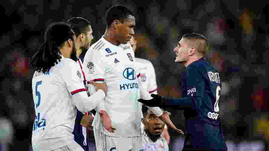 Lyon sente-se lesado e promete ir a justiça contra o fim do Campeonato Francês causado pela pandemia de coronavírus - Soccrates Images/Getty Images