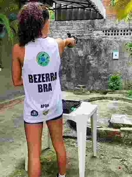 Brasileira Ana Clara Bezerra disputa prova online de pentatlo moderno - Divulgação/CBPM