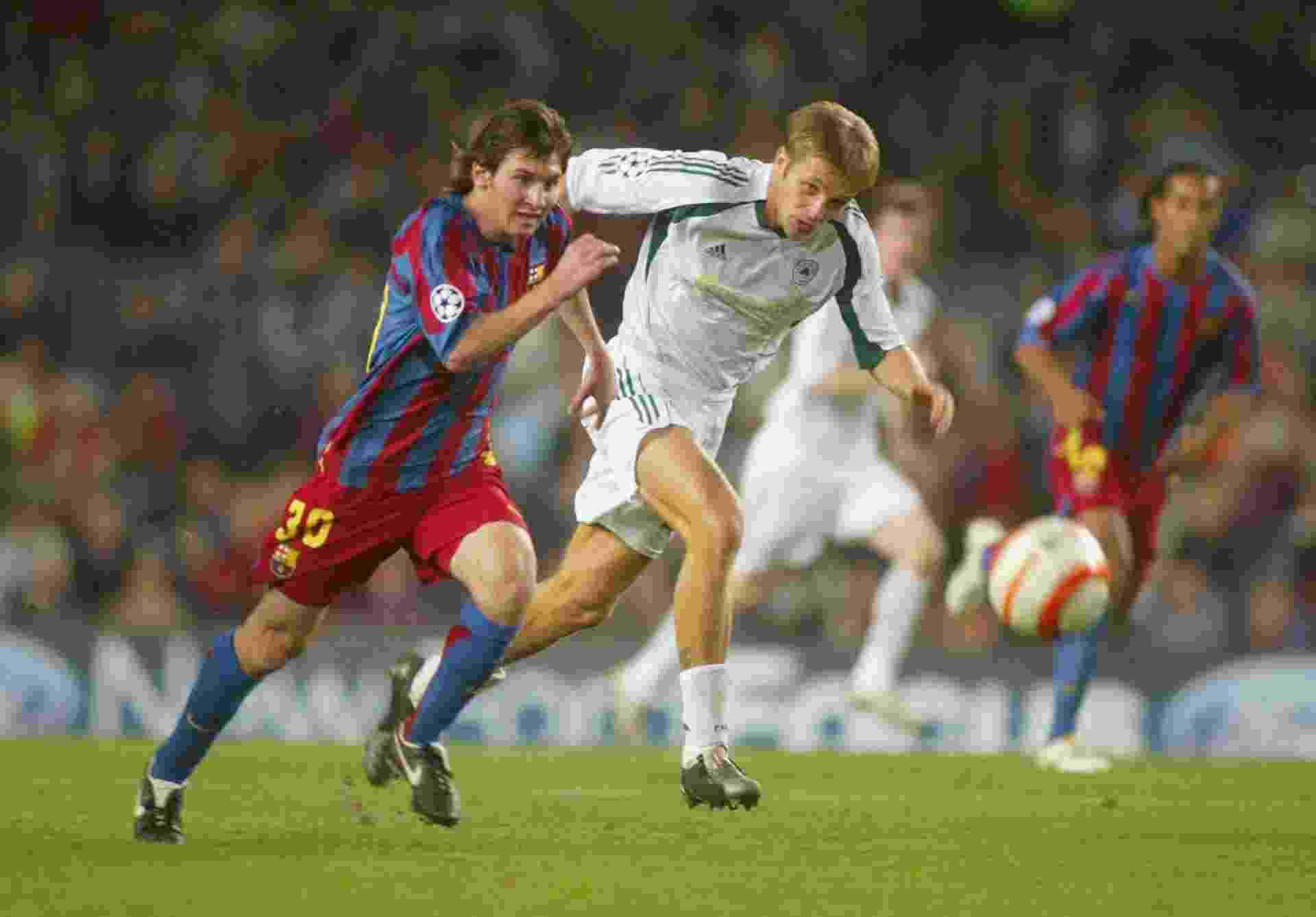 Chuteira de Messi em 2005 - Luis Bagu/Getty Images