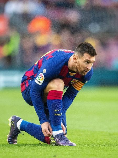 Lionel Messi decidiu ficar no Barcelona, segundo TV argentina - Tim Clayton/Corbis via Getty Images