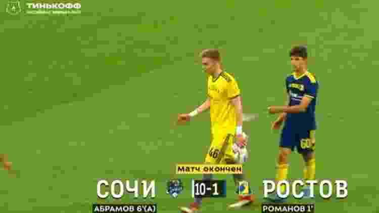 FK Rostov perde por 10 a 1 para o Sochi, com sub-17 em campo - Reprodução/Instagram @premierliga - Reprodução/Instagram @premierliga