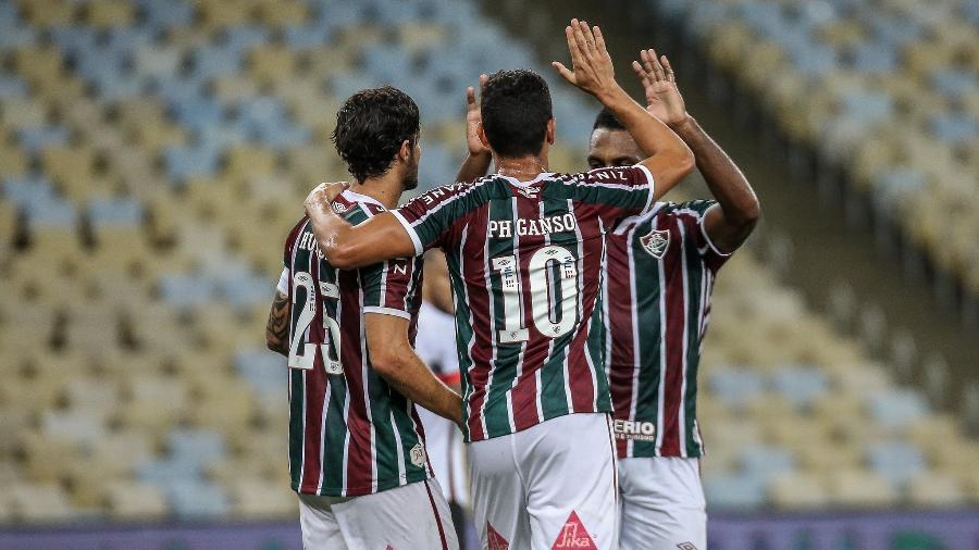 Fluminense venceu o Atlético-GO com gol contra e saiu na frente na Copa do Brasil - Lucas Merçon/Fluminense FC
