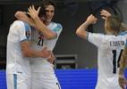 Com gols de Cavani e Suárez, Uruguai vence a Colômbia pelas Eliminatórias - RAUL ARBOLEDA/AFP