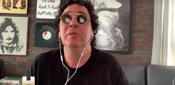 Esporte | Casagrande chora ao falar da morte de Maradona e cita dependência química