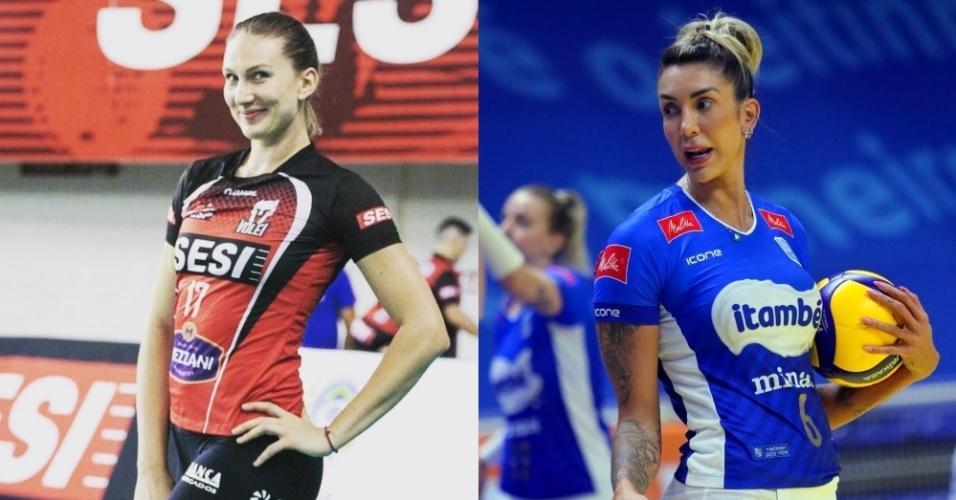 Polina Rahimova e Thaísa