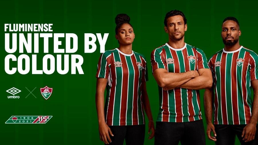 Fluminense apresentou nova camisa em suas redes sociais - Divulgação/Fluminense FC