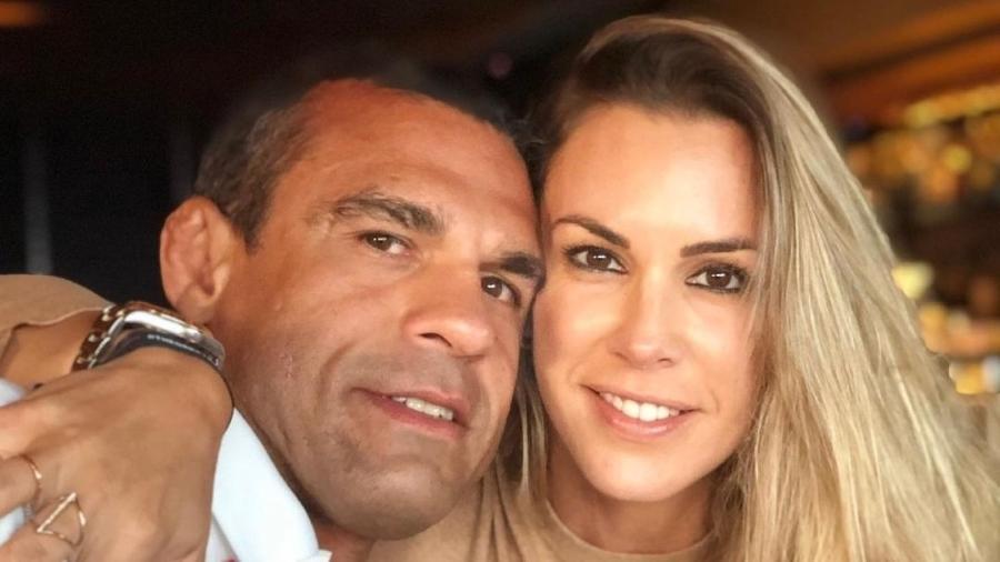 Vitor Belfort se declarou no aniversário de 45 anos de Joana Prado - Reprodução/Instagram