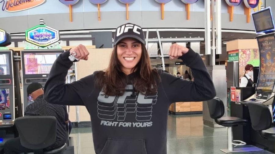 Gloria de Paula, lutadora de MMA - Instagram