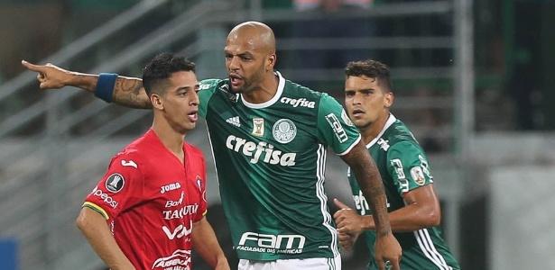 Felipe Melo elogiou o Jorge Wilstermann pela postura no jogo desta quarta