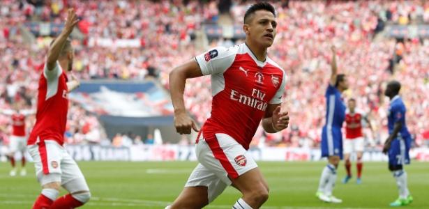 Sánchez terá seu contrato com o Arsenal encerrado no meio de 2018