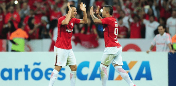 Leandro Damião e William Pottker voltarão ao grupo do Inter quando recuperados de lesão