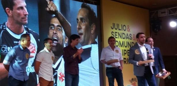 Com presenças de Felipe, Juninho e Mauro Galvão, Julio Brant lança chapa no Vasco
