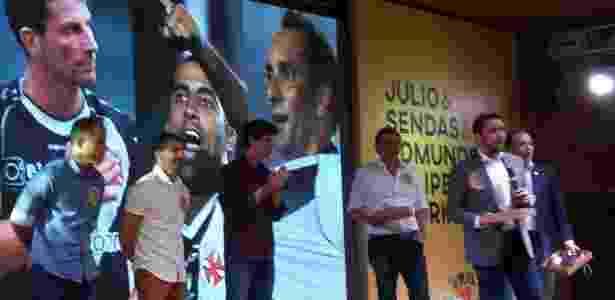 Com presenças de Felipe, Juninho e Mauro Galvão, Julio Brant lança chapa no Vasco - Leo Burlá/UOL