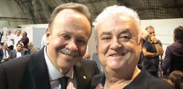 Paulo Garcia com o deputado Antônio Goulart, presidente do Conselho - Divulgação/Paulo Garcia