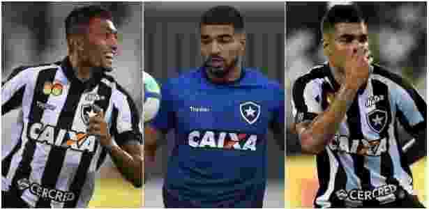 811589a1fd Candidatos a  matador  do time encaram forte concorrência no Botafogo  Imagem  Montagem UOL