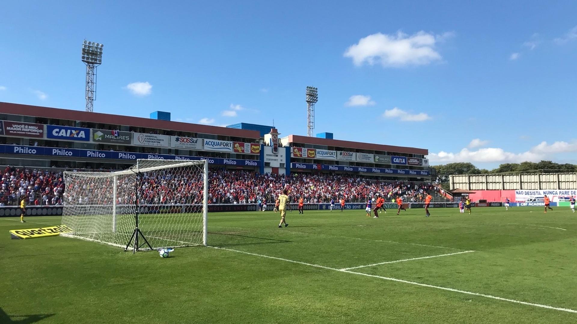 Paraná e Atlético-PR se enfrentam na Vila Capanema