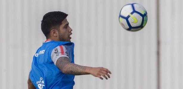 Atacante Sergio Díaz fez seu primeiro treino com bola como jogador do Corinthians - Daniel Augusto Jr. / Ag. Corinthians