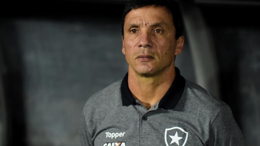 Zé Ricardo comemorou terceira vitória seguida na temporada após início vacilante - Vitor Silva/SSPress/Botafogo