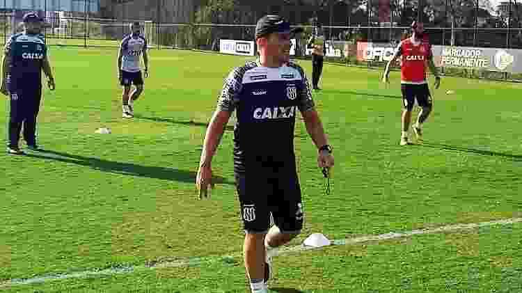 João Paulo Sanchez durante trabalho como auxiliar da Ponte Preta - PontePress/JHSemedo - PontePress/JHSemedo