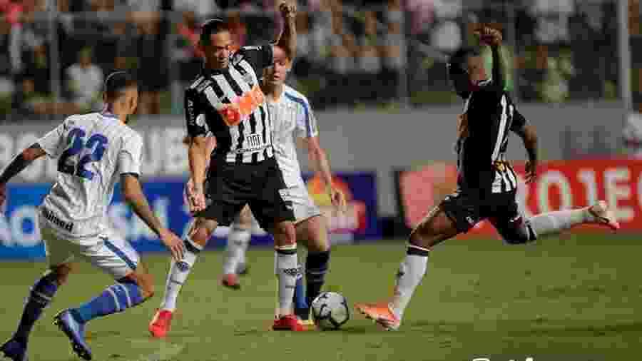 Ricardo Oliveira, do Atlético-MG, em partida contra o Avaí pela primeira rodada do Campeonato Brasileiro - Divulgalção/Atlético-MG