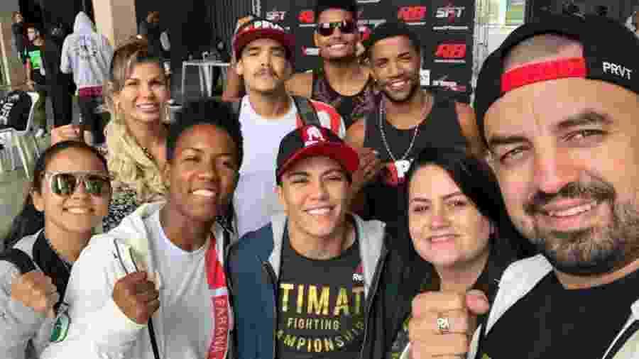 Jéssica Bate-Estaca acompanha colegas da PRVT em evento no Pacaembu - Divulgação