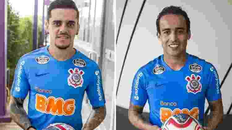 Ídolos alvinegros, Fagner e Jadson autografaram bola que vai a leilão da Unicef a partir de hoje - Rodrigo Gazzanel/Corinthians