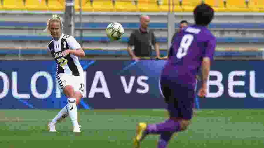 Petronella Ekroth atuava na equipe feminina da Juventus - Alessandro Sabattini/Getty Images