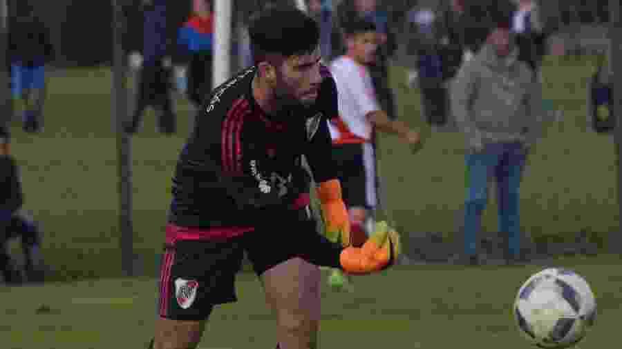 Ex-River Plate, Ezequiel Muth passa por testes no San Félix, time C do Málaga - Reprodução/Twitter
