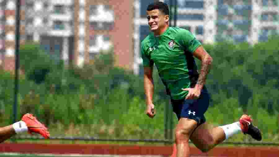 Mascarenhas voltou a ser problema no Fluminense - Lucas Merçon/Fluminense FC
