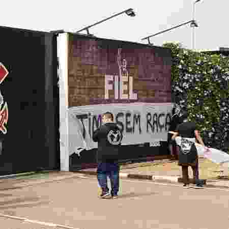 Protesto Corinthians - Flavio Latif/UOL - Flavio Latif/UOL
