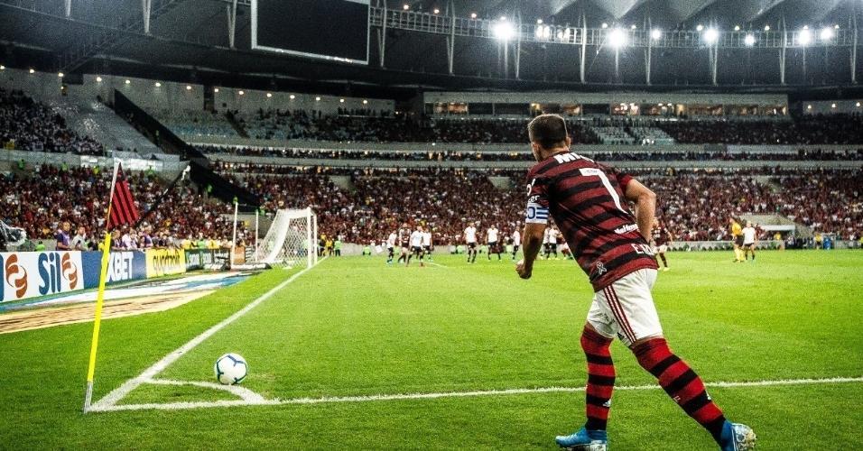 7 - 62.510 pessoas - Flamengo 1 x 0 Santos - 14/09 - Brasileirão - 19ª rodada