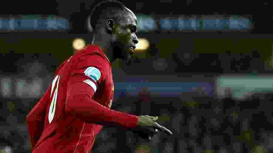 Sadio Mané, do Liverpool, está nos planos do Real Madrid, mas clube não teme saída - Chris Radburn/Reuters