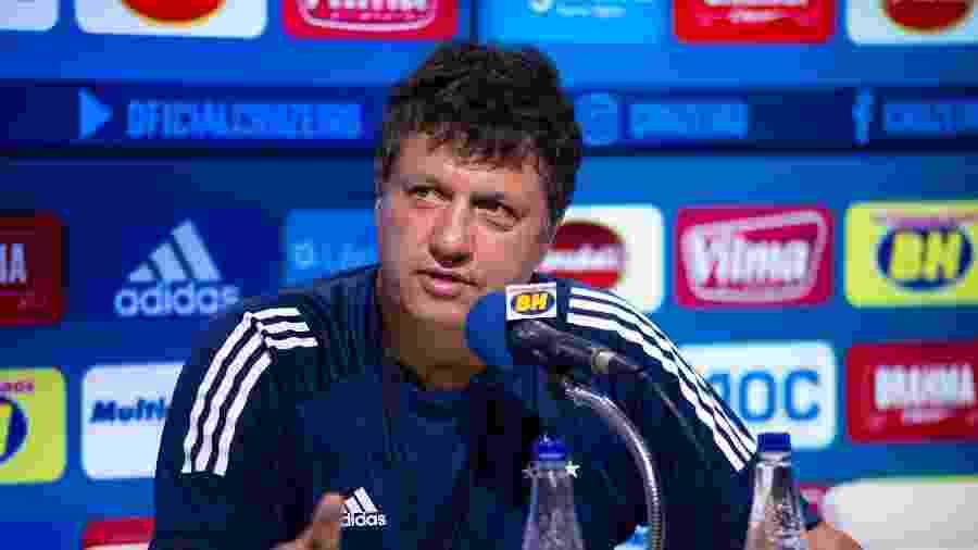 Adilson Batista foi demitido do cargo de técnico do Cruzeiro - Bruno Haddad/Cruzeiro