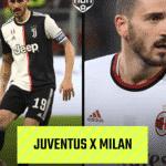 Futebol Muleke - Juventus x Milan 3 - Arte/UOL