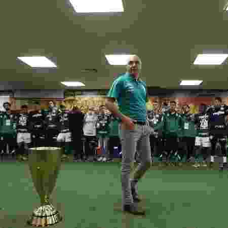 Maurício Galiotte, presidente do Palmeiras - Cesar Greco