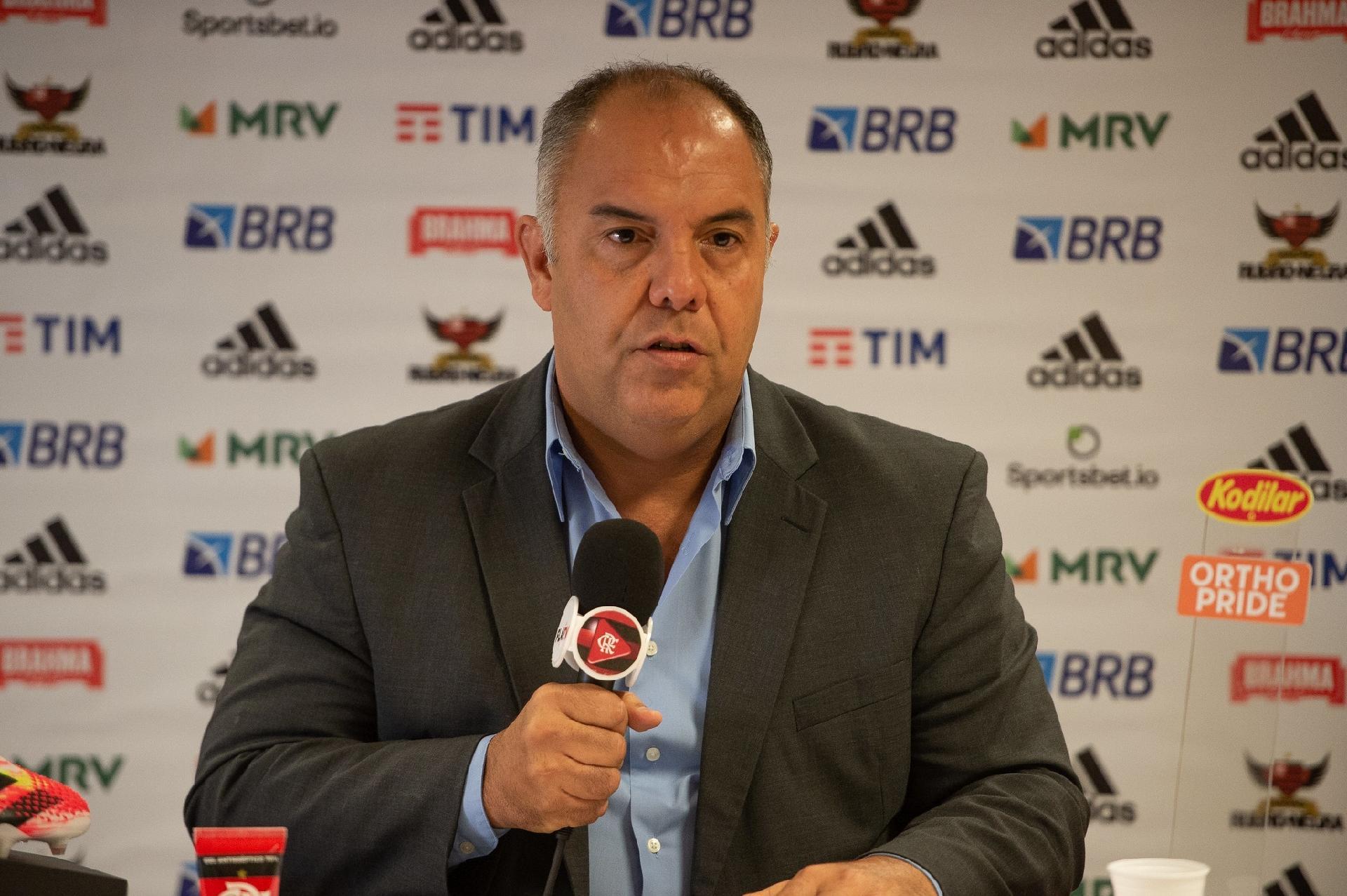 Outros do Flamengo foram candidatos e jamais tiveram tamanho mimimi; diz Marcos Braz