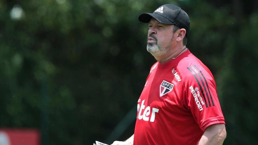 Marcos Vizolli, técnico interino do São Paulo - Divulgação/São Paulo
