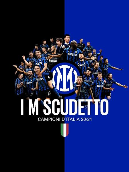 Inter de Milão conquista Italiano e interrompe sequência da Juventus - Twitter