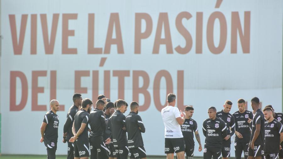 Corinthians treinou no CT da seleção peruana nesta quarta (5) - Rodrigo Coca/ Ag. Corinthians