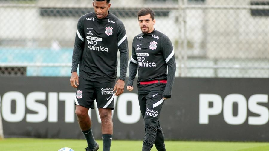 Gil e Fagner serão titulares do Corinthians no Allianz Parque  - Rodrigo Coca/ Ag. Corinthians