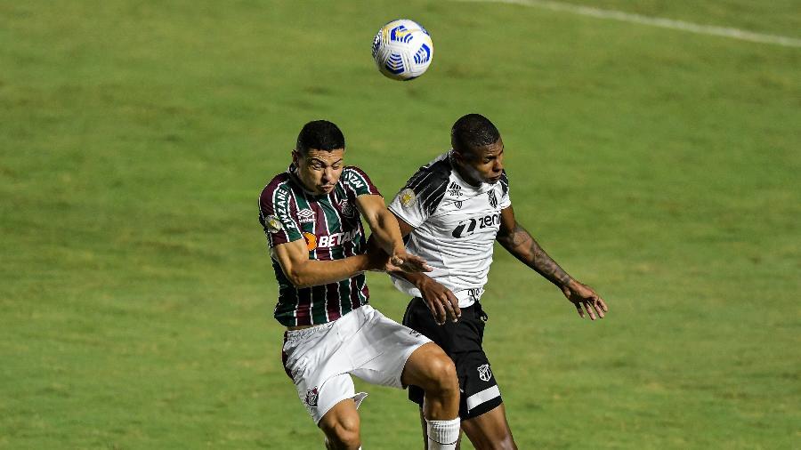 Fluminense e Ceará empataram sem gols pelo Campeonato Brasileiro - Thiago Ribeiro/AGIF