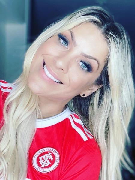 Renata Fan celebra fim de jejum do Inter no Beira-Rio - Reprodução/Instagram