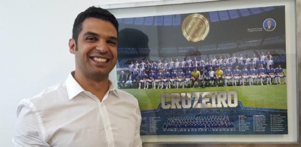 Pedro Moreira é ex-diretor de Negócios Internacionais do clube e novo supervisor do futebol - Cruzeiro/Divulgação