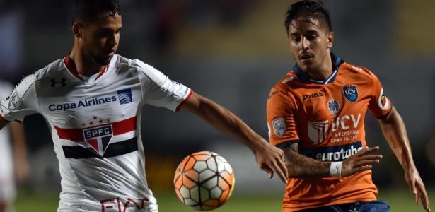O zagueiro Lucão tem no currículo a experiência de jogar a Libertadores