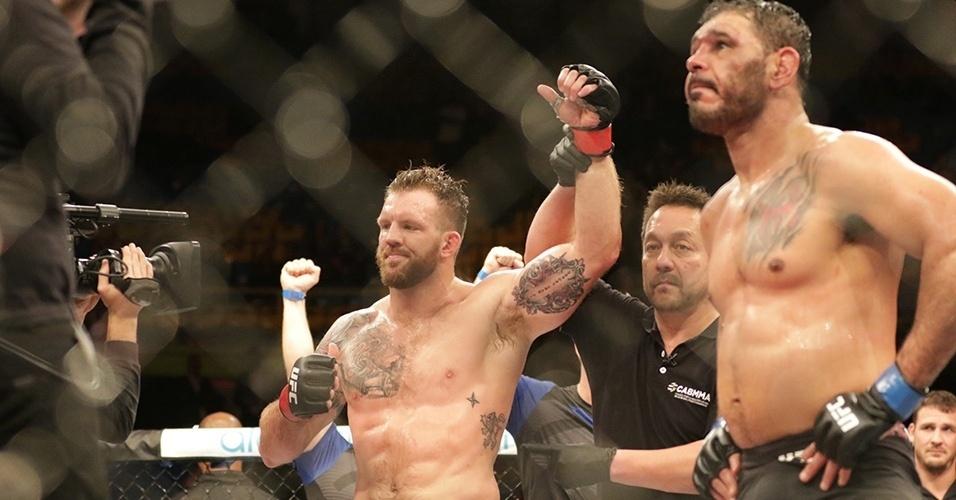 Bader é anunciado como vencedor em cima de Minotouro no UFC SP