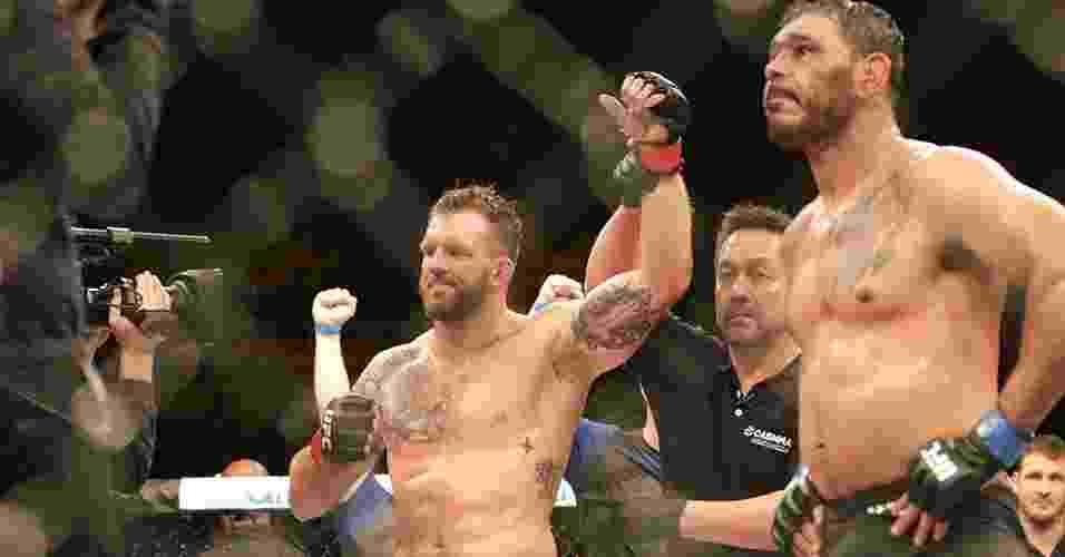 Bader é anunciado como vencedor em cima de Minotouro no UFC SP - Cleber Yamaguchi/Ag. Fight