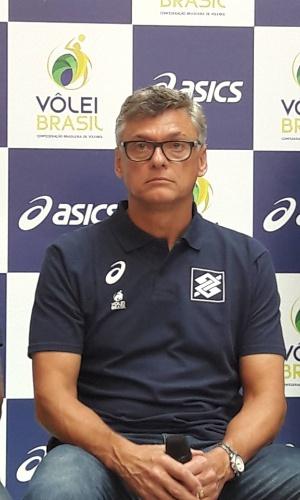 Renan Dal Zotto, novo técnico da seleção brasileira de vôlei