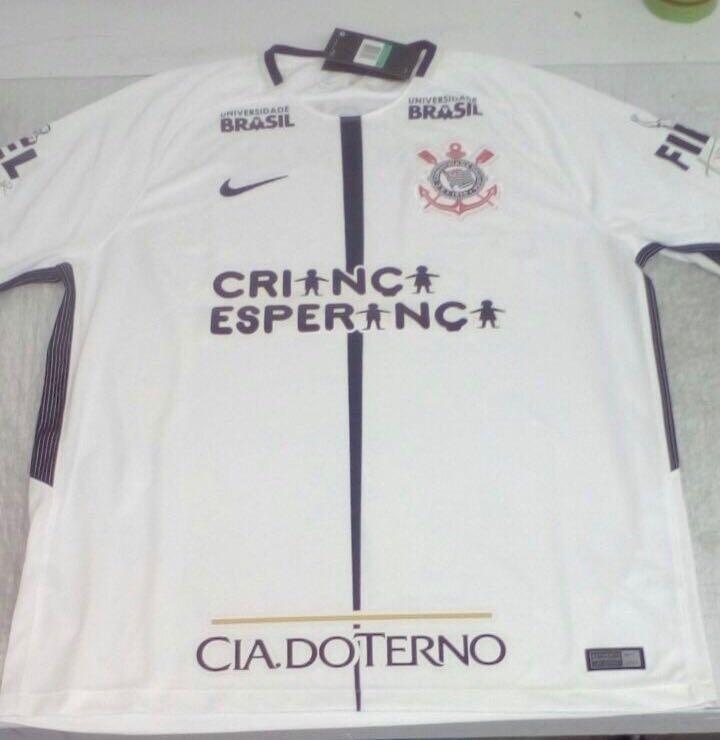 Corinthians anuncia acerto com 2 patrocinadores  contratos valem R ... 1d86b035d2f4a