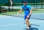 """Ele queria trabalhar com estrelas do futebol, mas faz Federer """"voar"""" aos 36 - Reprodução/Twitter"""